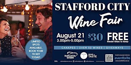 Stafford City Wine Fair tickets