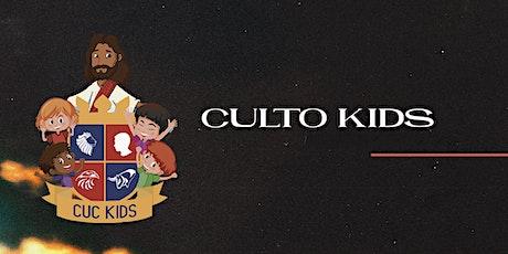 Culto KIDS - CUC CHURCH ingressos