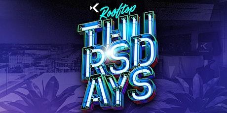 Thursdays at Kabana Rooftop tickets