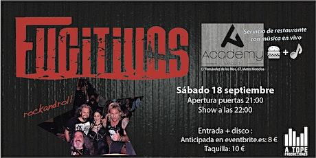 Concierto de Fugitivos en Academy Madrid entradas