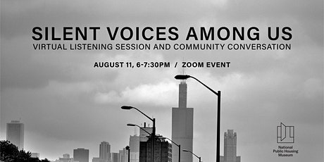 Silent Voices Among Us: Virtual Listening Session & Community Conversation tickets