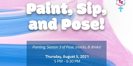 Paint Sip and Pose tickets