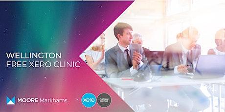 Free Xero Clinic tickets