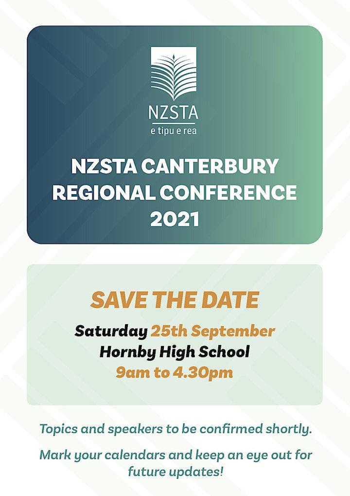 NZSTA Canterbury Regional Conference 2021 image