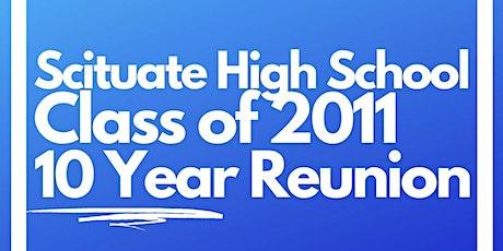 Scituate High School Class of 2011 Reunion tickets