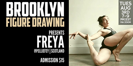 Brooklyn Figure Drawing Tuesday Zoom Session  -  Freya tickets