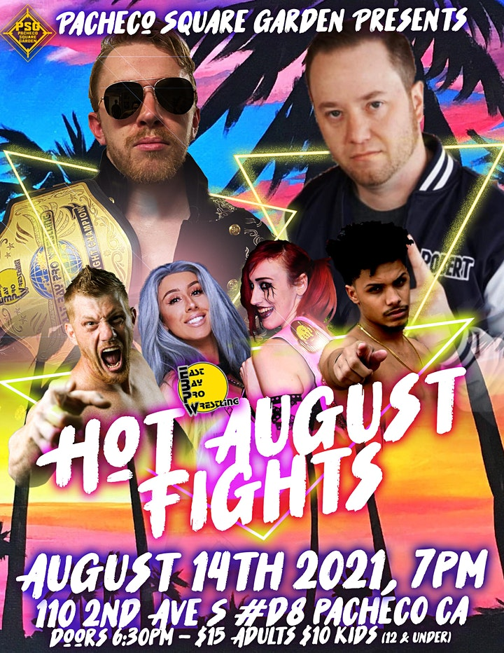 EBPW: Hot August Fights image