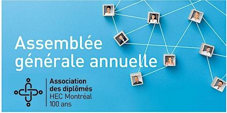 AGA 2021 de l'Association des diplômés HEC Montréal billets
