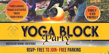 Yoga Block Party tickets