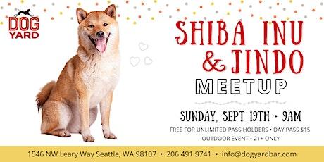 Shiba Inu & Jindo Meetup at the Dog Yard in Ballard tickets