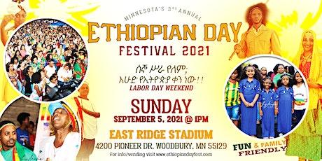 3rd Annual Ethiopian Day Festival of Minnesota 2021 tickets