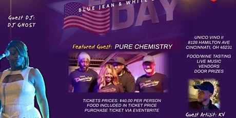 Blue Jean and White Labor Day Event tickets
