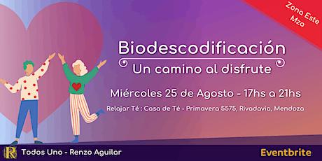 Biodescodificación: Un camino al disfrute - Zona Este entradas