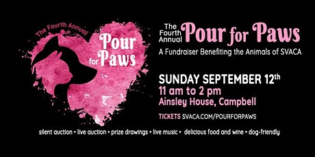 Pour for Paws tickets