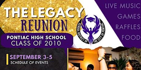 2010 Legacy Reunion tickets