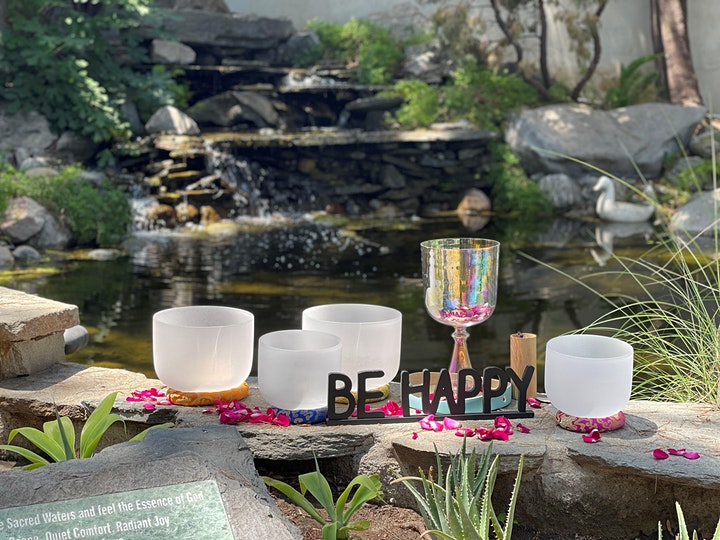 HARMONIC  SOUND BATH AND GUIDED MEDITATION image