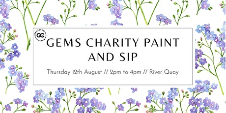 GEMS Charity Paint and Sip tickets