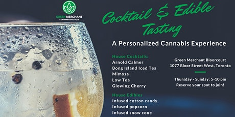 Cannabis Cocktail Tasting (19+ Event) tickets