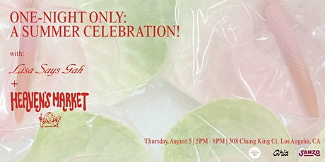 One Night Only:  A Summer Celebration with Heaven's Market tickets