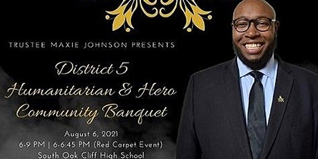 District 5 Humanitarian and Hero Community Banquet tickets