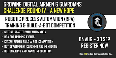 Rise of the Digital Wingman Challenge IV - A New Hope tickets