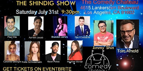 The Shindig Show at the Comedy Chateau tickets