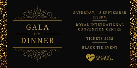 Heart of Australia 2021 Gala Dinner tickets