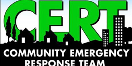 Newark CERT August Training - Access and Functional Needs tickets