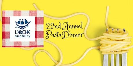Pasta Dinner 2021 tickets