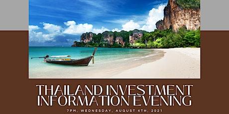 Thailand Investment Information Evening tickets