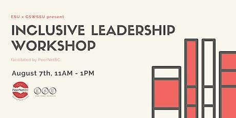 PeerNetBC Inclusive Leadership Workshop tickets