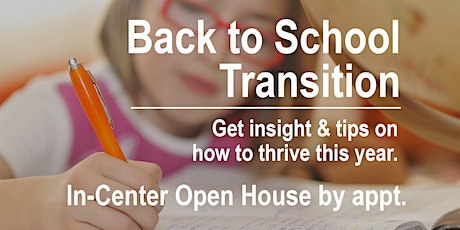 Back 2 School Transition: LearningRx Raleigh In-Person Open House (by appt) tickets