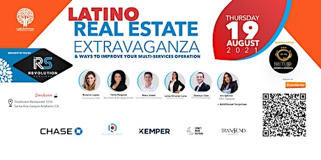 Latino Real Estate Extravaganza & Ways to Improve Multi-Services Operation tickets