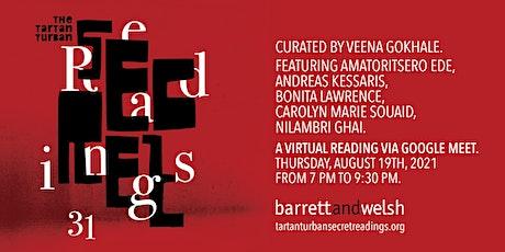 Tartan Turban Secret Readings #31 tickets