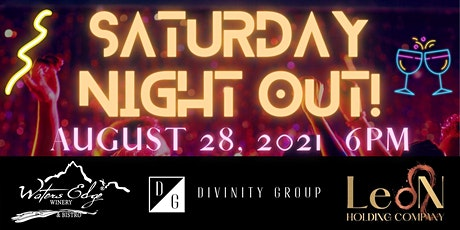 Saturday Night Out! tickets