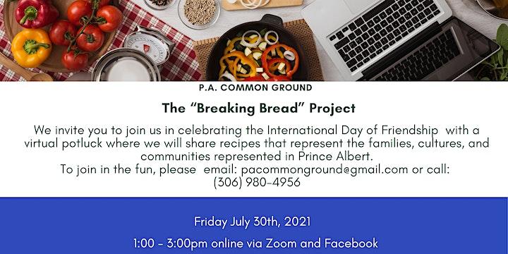 The Breaking Bread Project - A Virtual Community Potluck image