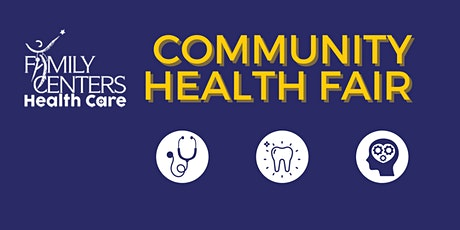 Family Centers' Community Health Fair tickets