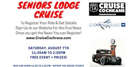 SENIOR'S & NURSING STAFF LODGE CRUISE tickets
