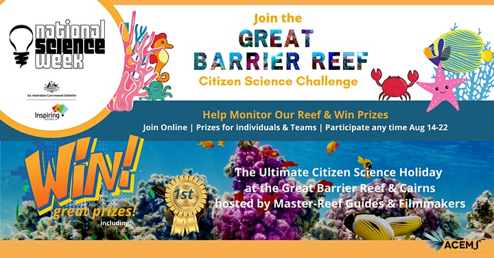 Great Barrier Reef National Science Week Celebration & Challenge  Launch image