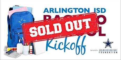 Arlington ISD Back to School Kickoff tickets