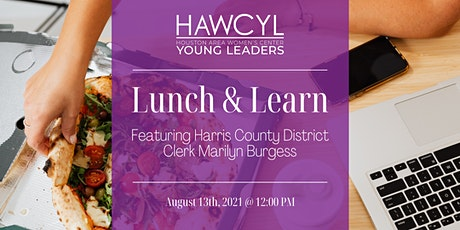 HAWCYL Lunch and Learn with Harris County District Clerk tickets