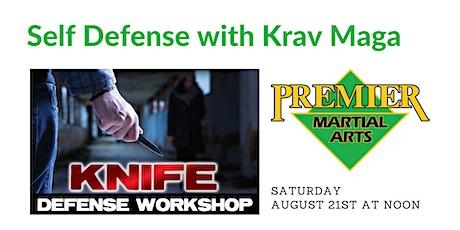 Knife Defense Workshop tickets