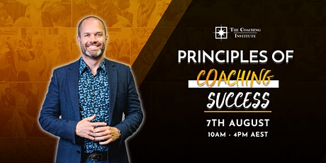 Principles of Coaching Success 1 Day Live Virtual Summit tickets