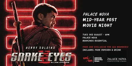 AUU Member's Movie Night - Snake Eyes tickets