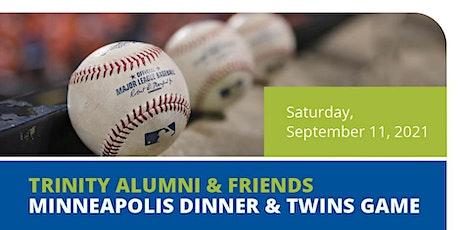Trinity Alumni & Friends Minneapolis Dinner & Twins Game tickets