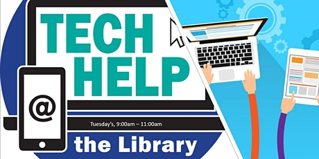 Tech Drop In  - Tuesday tickets