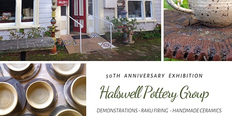 Halswell Pottery Group 50th Anniversary Exhibition tickets