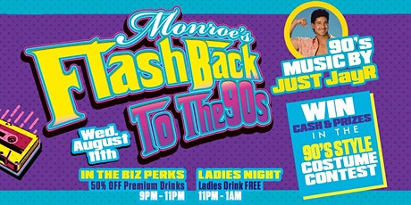 Flashback to the 90s at Monroe's of Palm Beach tickets