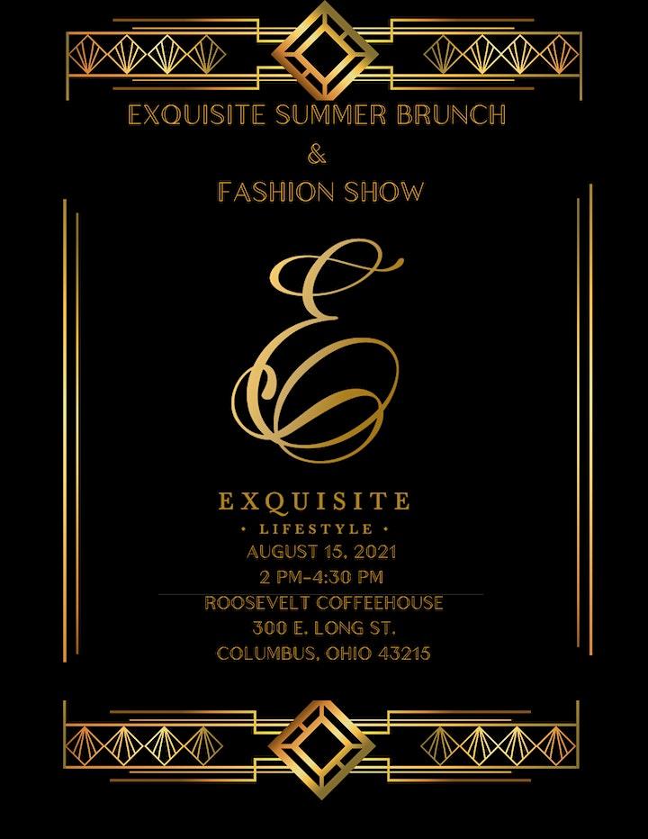 Exquisite Summer Brunch &  Fashion Show image