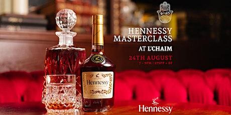 Hennessy Masterclass tickets